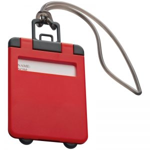 Luggage Tag Kemer - red