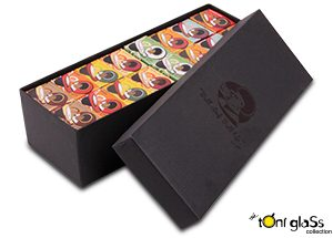 TONI GLASS 48 PIECE GIFT PACK